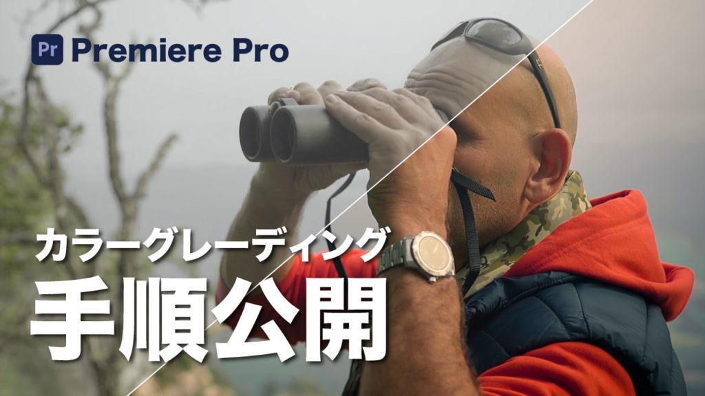 カラーグレーディング方法を公開: PremierePro